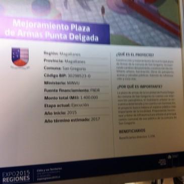 PRESENTACION DE MEJORAMIENTO PLAZA DE ARMAS PUNTA DELGADA Y REUNIÓN CON DIRECCIÓN GENERAL DE CARABINEROS DE CHILE.