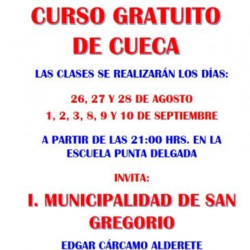 CURSO DE CUECA