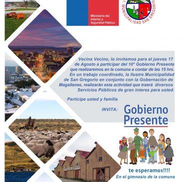 Gobierno Presente en San Gregorio