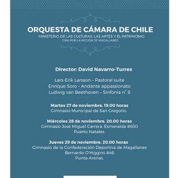 Invitación Orquesta Cámara de Chile