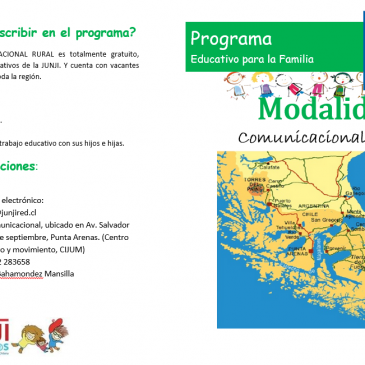 Programa Educativo para la Familia Modalidad  Comunicacional Rural.