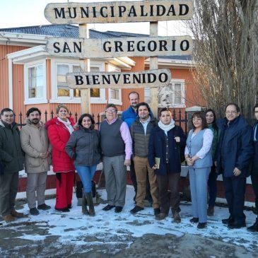 Trabajo colaborativo entre I. Municipalidad de San Gregorio y UMAG
