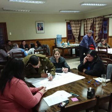 Se realizó positiva sesión de trabajo con la Mesa de Actores Locales en el marco de la elaboración del Plan de Desarrollo de la Localidad.