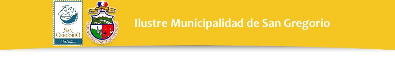 Ilustre Municipalidad de San Gregorio