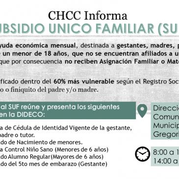 CHILE CRECE CONTIGO INFORMA