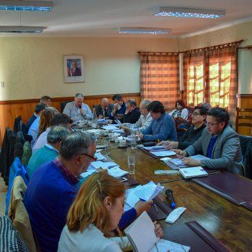 CORE se reunió en San Gregorio y aprobó importantes recursos para iniciativas de Infraestructura y Deportivas.