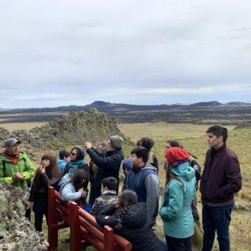 Programa busca potenciar la vinculación entre la comunidad de Villa Punta Delgada y el Parque Nacional Pali Aike.