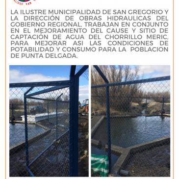 Ilustre Municipalidad de San Gregorio Informa: