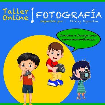 TALLER DE FOTOGRAFÍA ON-LINE.