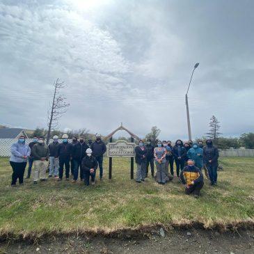 Municipalidad de San Gregorio dio inicio a emblemático proyecto de reposición red alcantarillado y construcción planta de tratamiento de aguas servidas en Villa Punta Delgada.