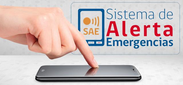 Conoce más sobre el Sistema de Alerta de Emergencias (SAE).