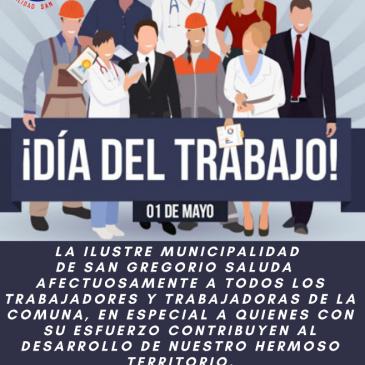 SALUDO A LOS TRABAJADORES/AS EN SU DÍA!.